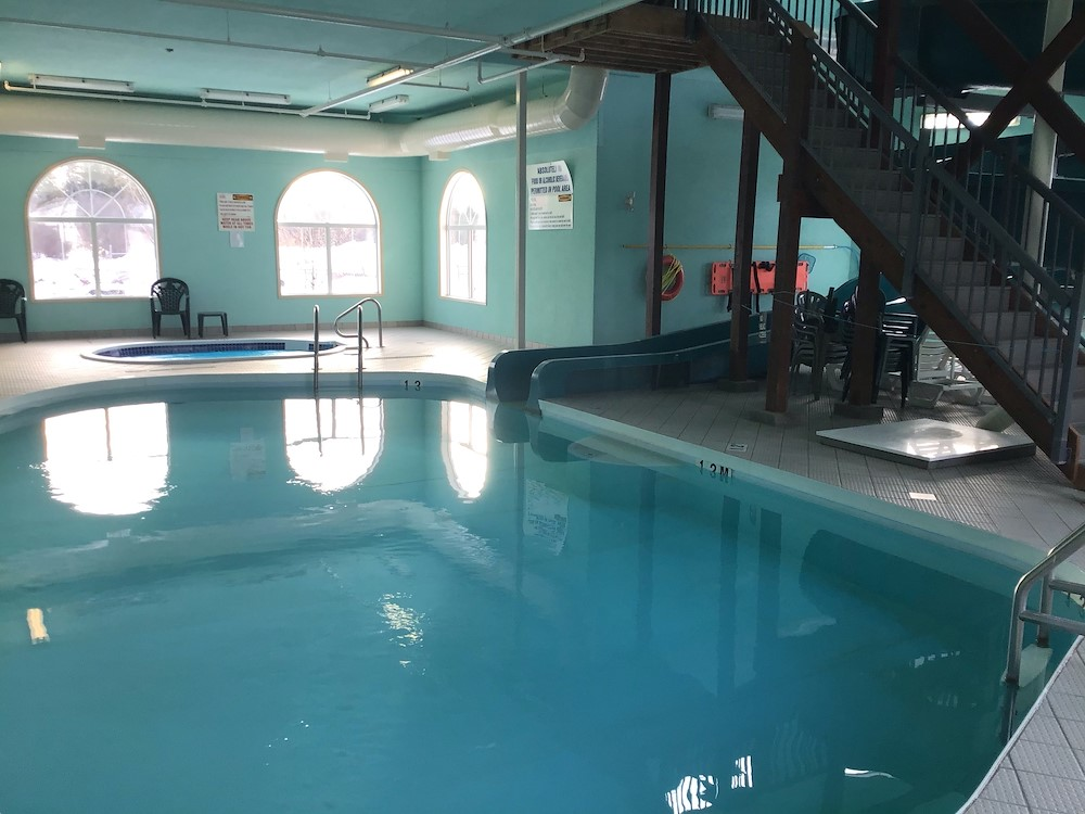 pool facilities in our the pas manitoba hotel